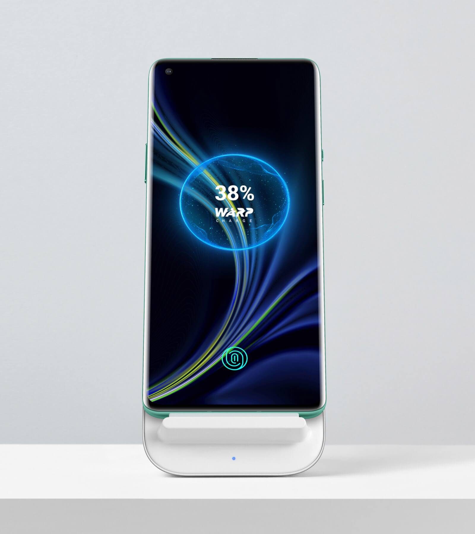 OnePlus 8 Pro using the fastest wireless charger ever